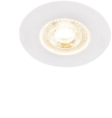 Sada 5 zapustených bodových svetiel biela 3 stupňové stmievateľné - Ulo