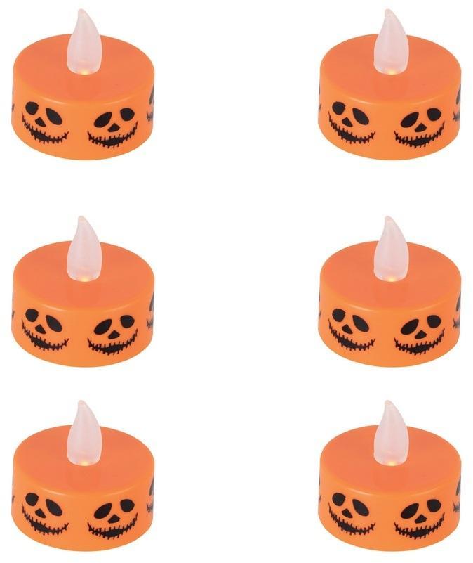 Sada čajové sviečky Halloween - 6ks