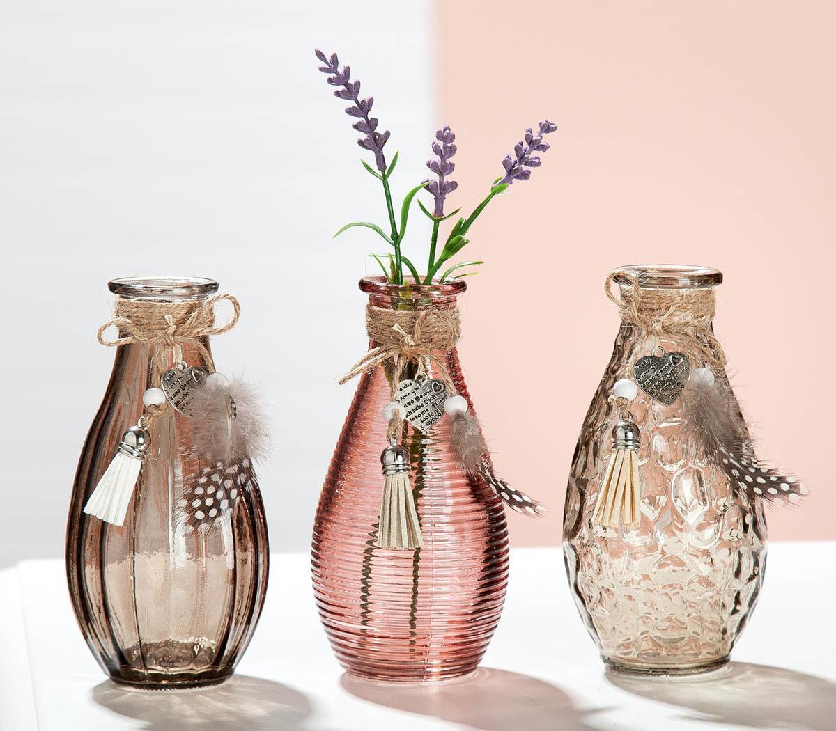 Sada váz Srdce, 3 kusy