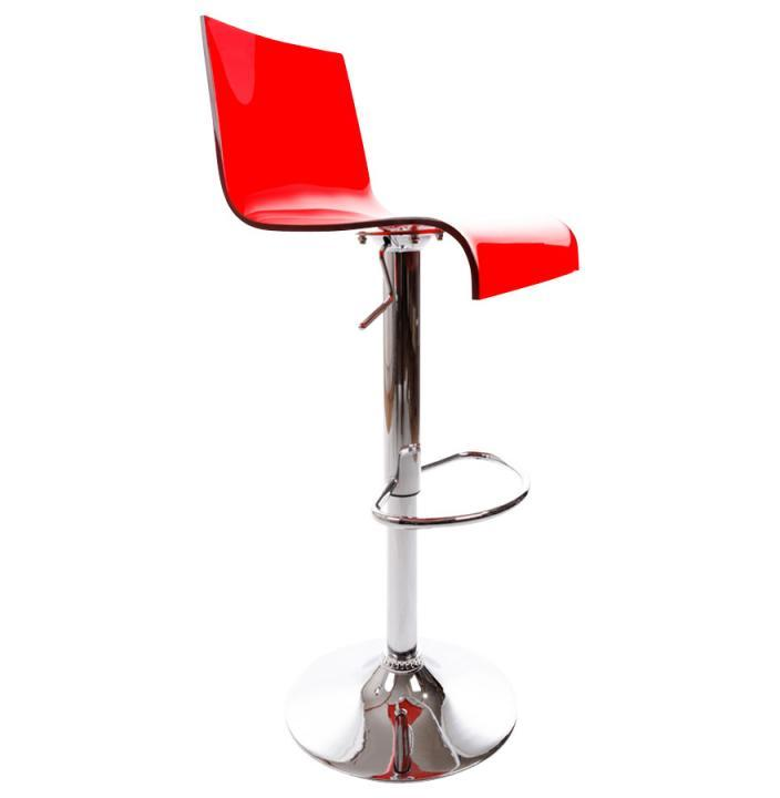 Saloma Bar Stool Red