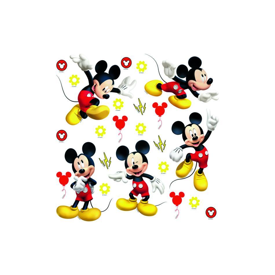 Samolepiaca dekorácia Mickey Mouse, 30 x 30 cm