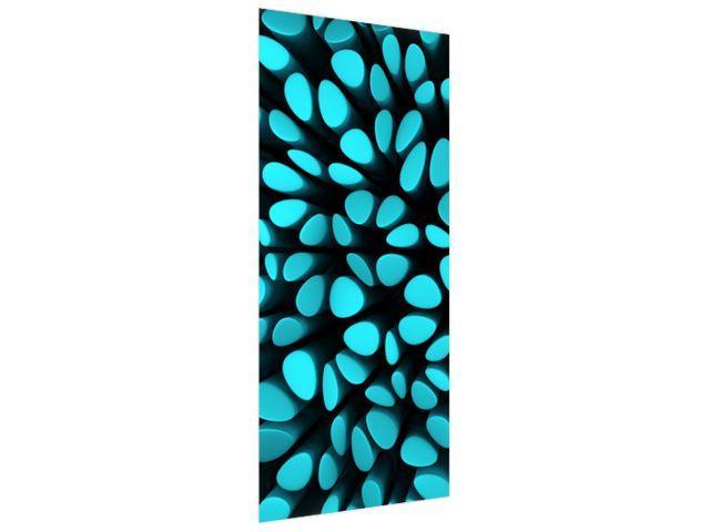 Samolepiaca fólia na dvere Modré škvrny 3D 95x205cm ND3873A_1GV