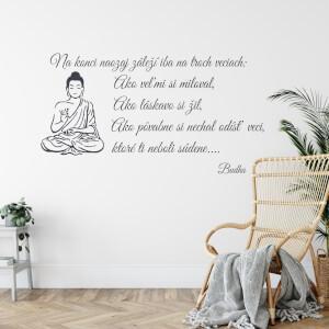 Samolepka - Budha