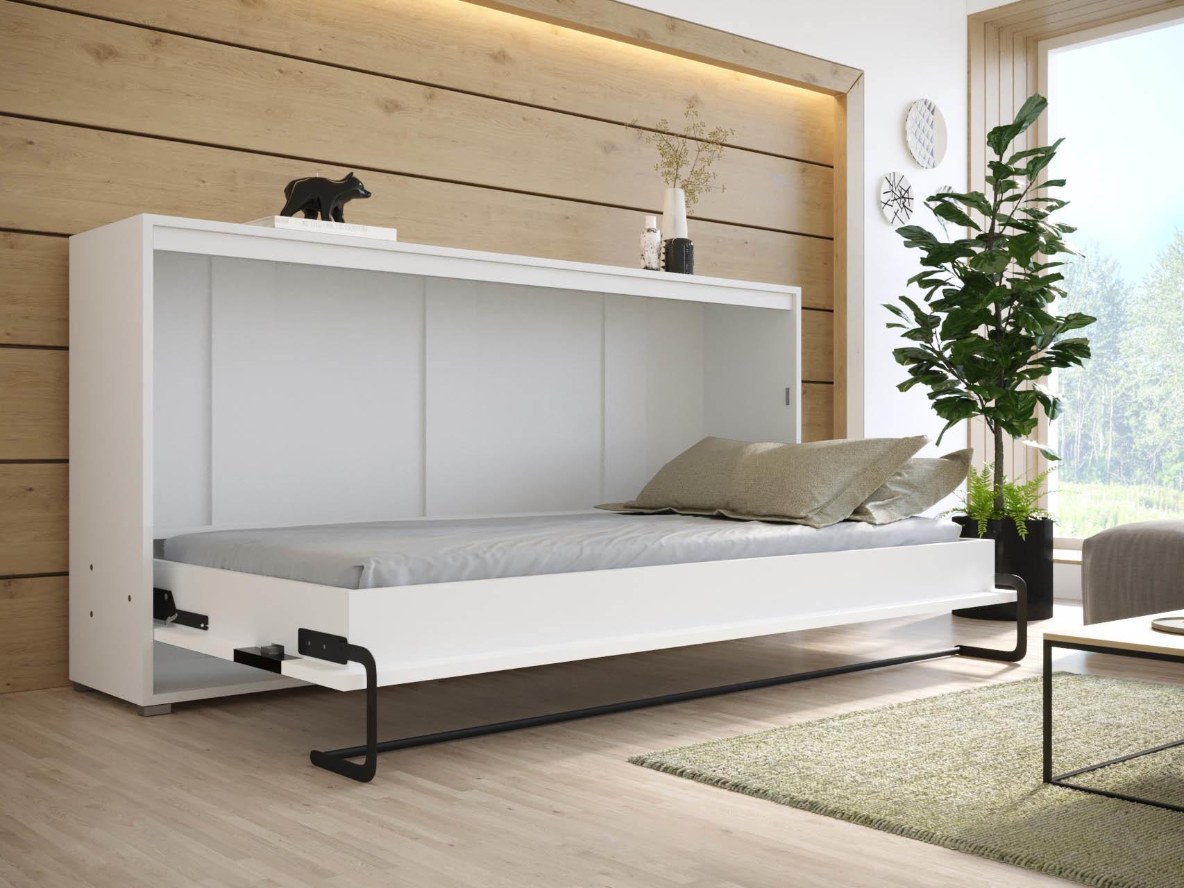 SB Jednolôžková sklápacia posteľ Magnus biela Rozmer lôžka: 200x90