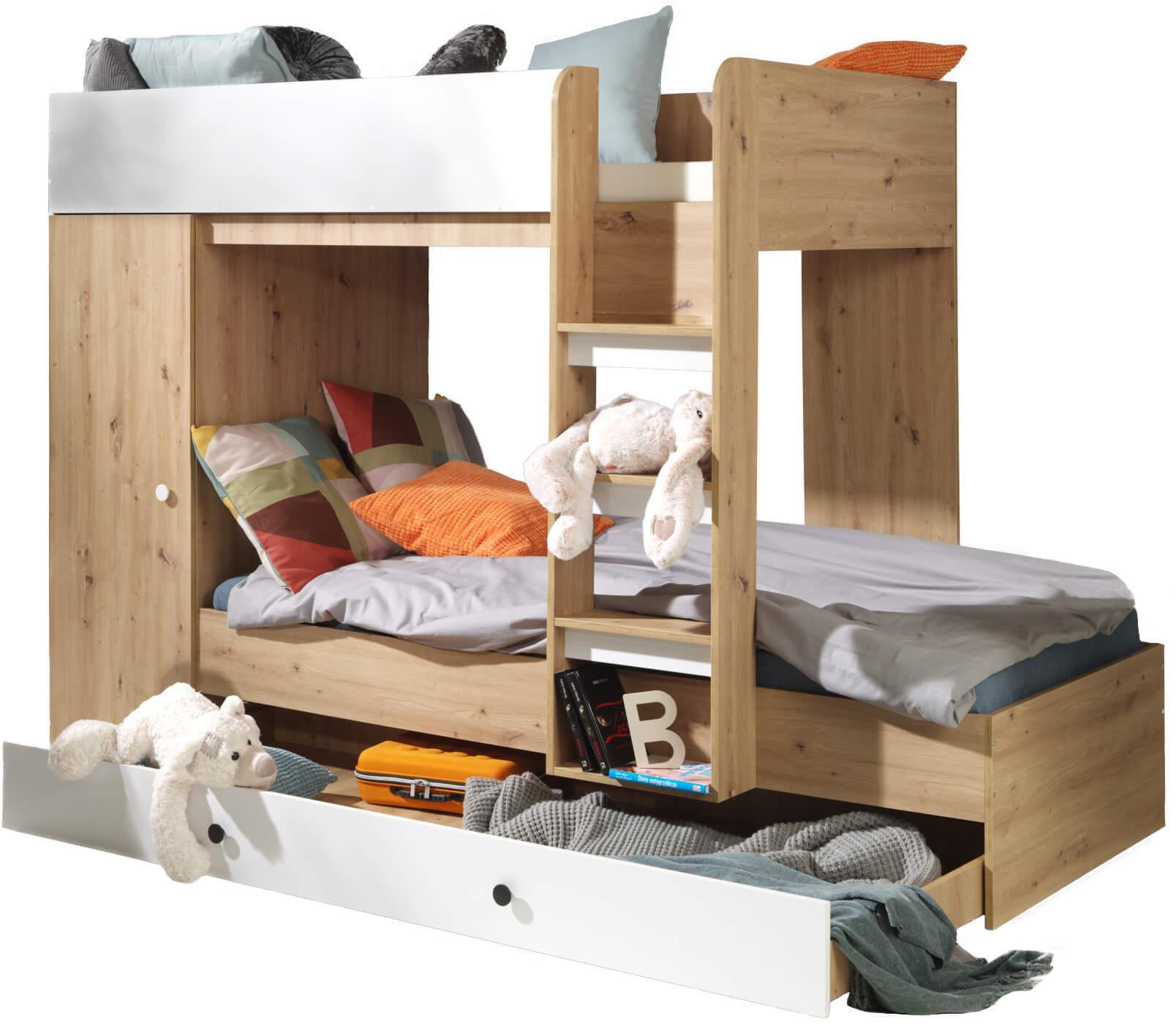 SB Multifunkčná poschodová posteľ Kamelo 2