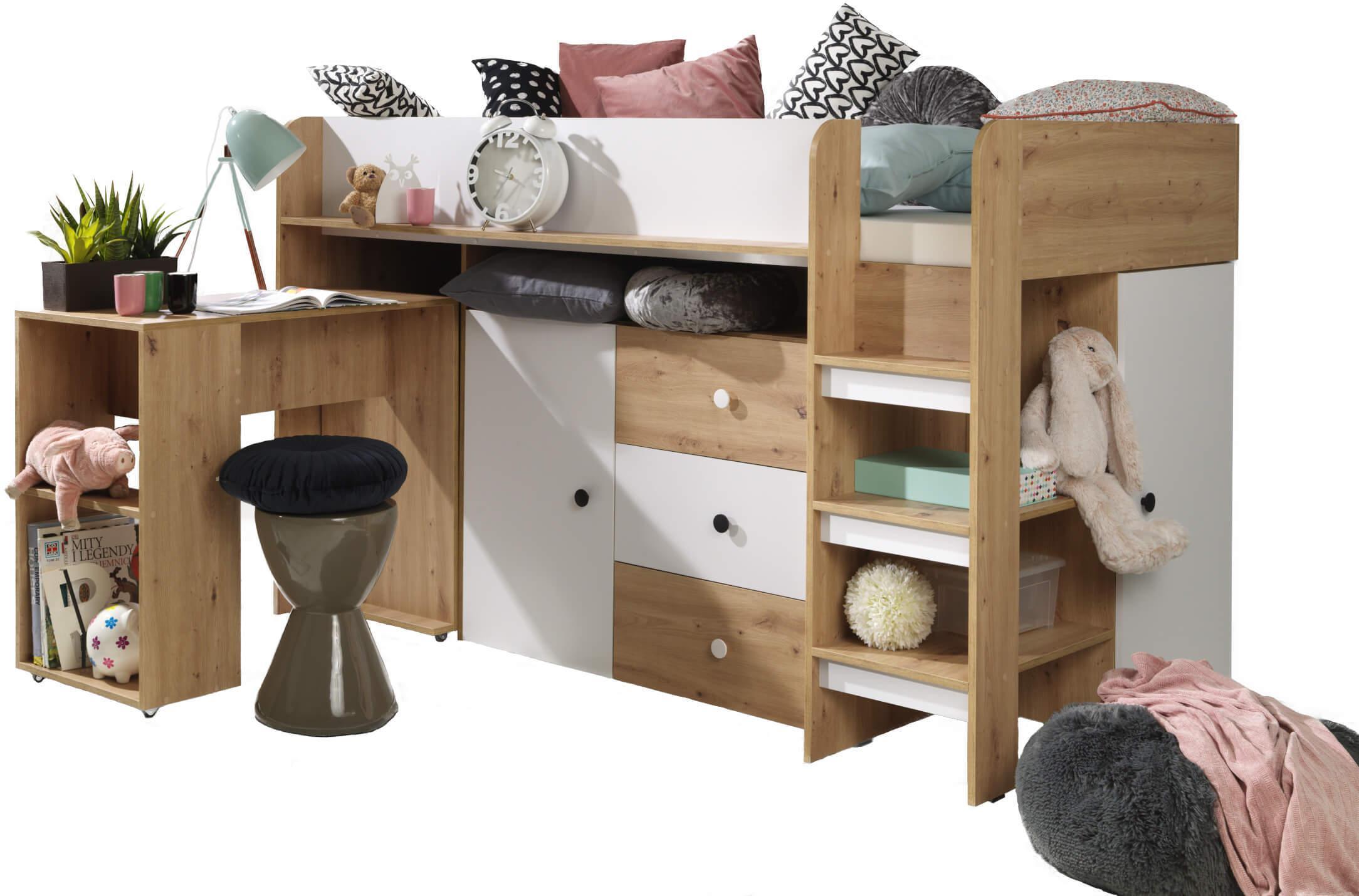 SB Multifunkčná posteľ Kamelo 1