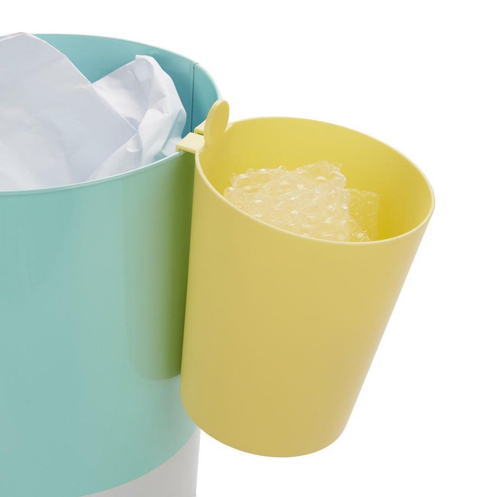 Separačná nádoba na kôš Balvi Mr.Recycler 27463, žltá