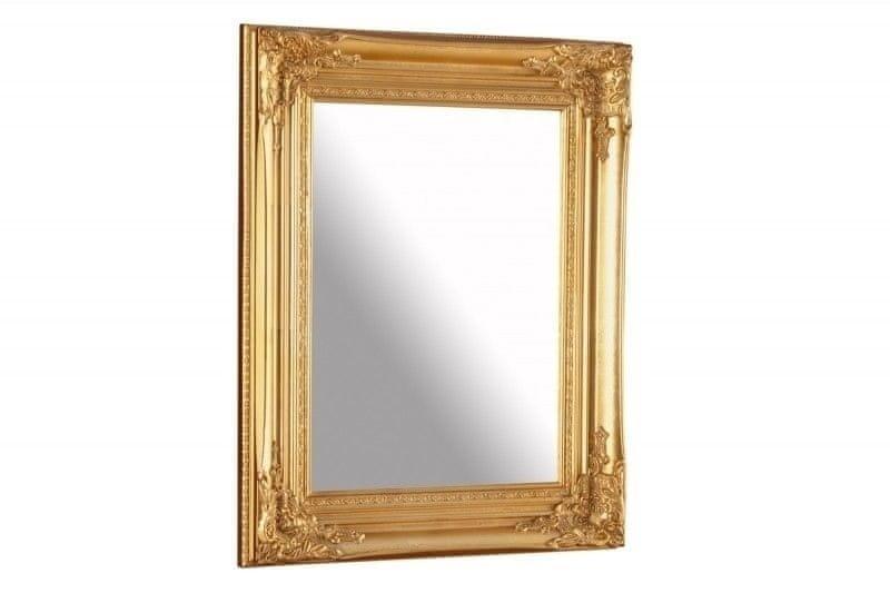 shumee INVICTA Závesné zrkadlo SPECULUM 55cm - zlaté