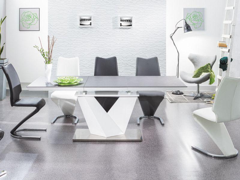 Signal Jedálenský stôl ALARAS II stoly: 76 x 85 x 140 / 200 cm