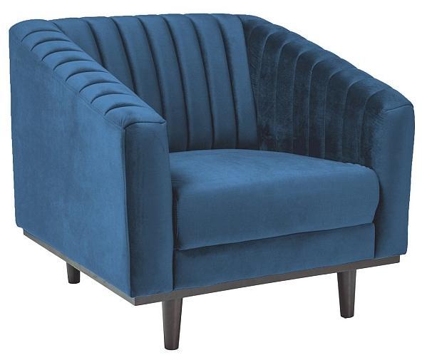 Signal Kreslo Asprey Velvet 1 Farba: Modrá