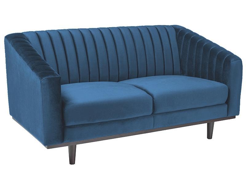 Signal Pohovka Asprey Velvet 2 Farba: Modrá