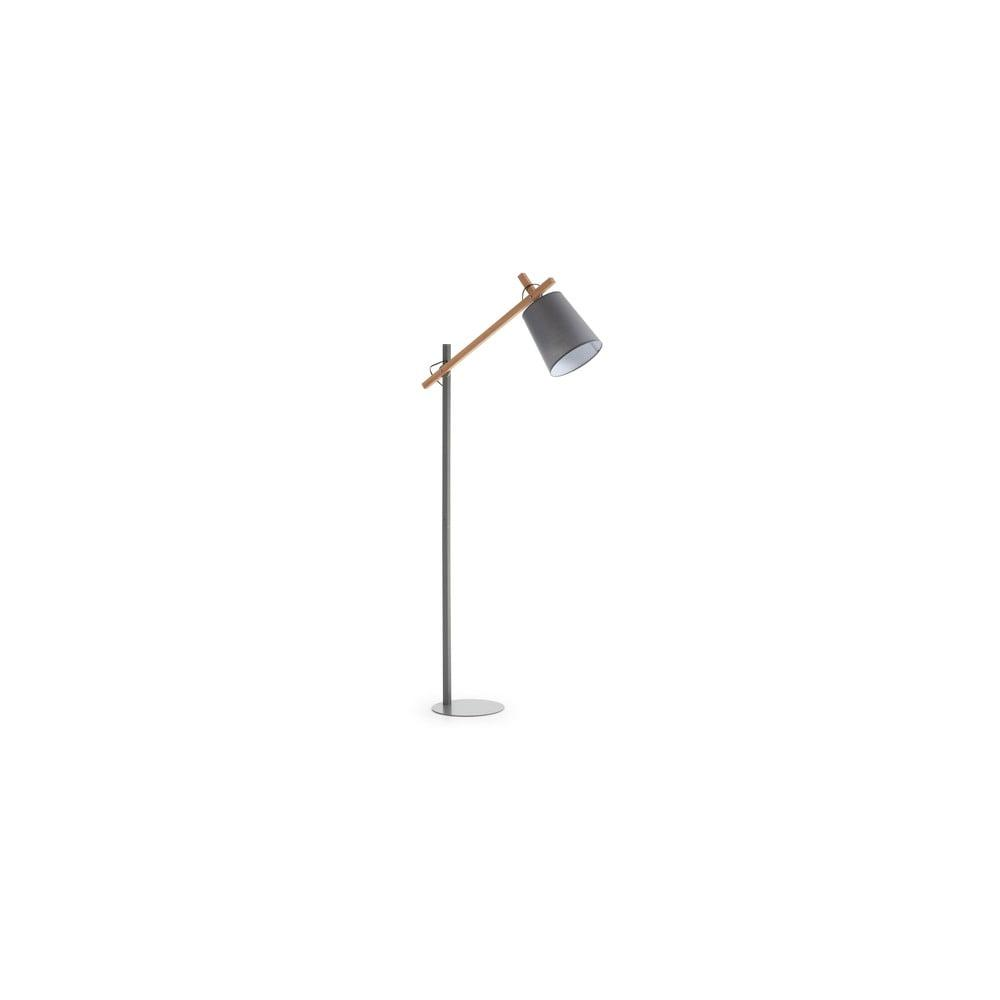 Sivá stojacia lampa La Forma Jovik
