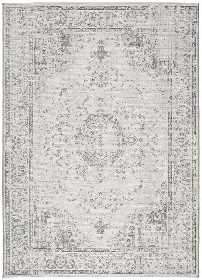 Sivo-béžový vonkajší koberec Universal Weave Lurno, 155 x 230 cm