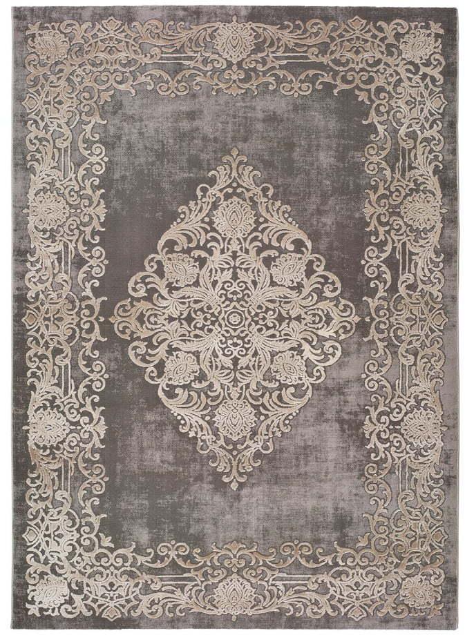 Sivý koberec Universal Izar Ornaments, 120 x 170 cm