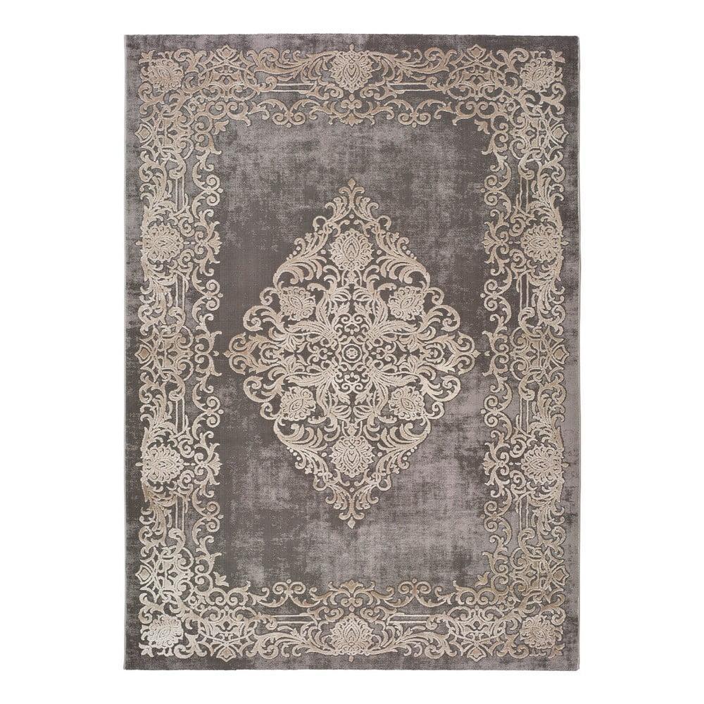 Sivý koberec Universal Izar Ornaments, 60 x 120 cm