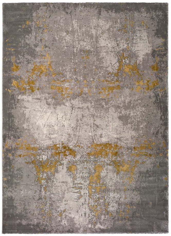 Sivý koberec Universal Mesina Mustard, 200 x 290 cm