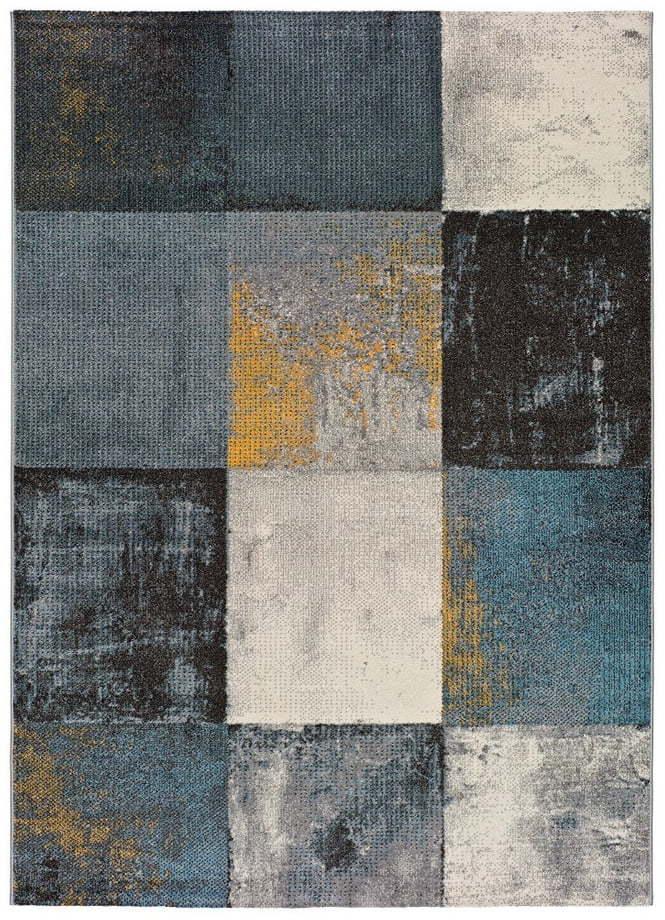 Sivý koberec vhodný aj do exteriéru Universal Adra Azulo, 160 × 230 cm