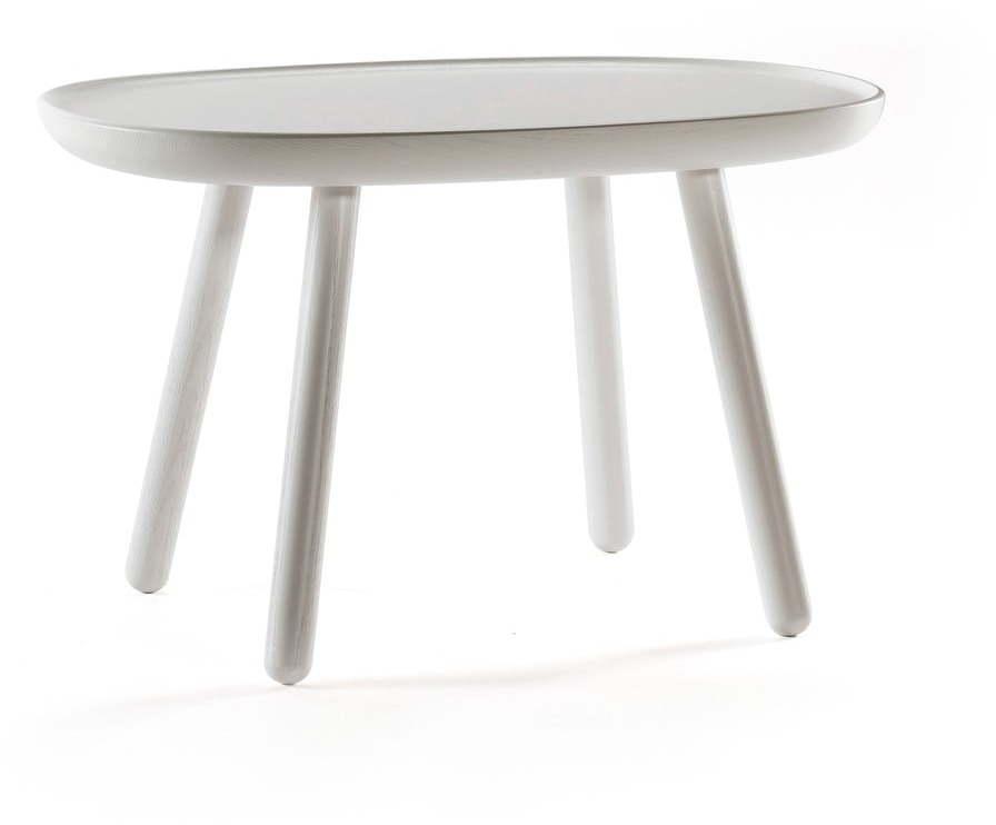 Sivý stolík z masívu EMKO Naïve, 61 x 41 cm