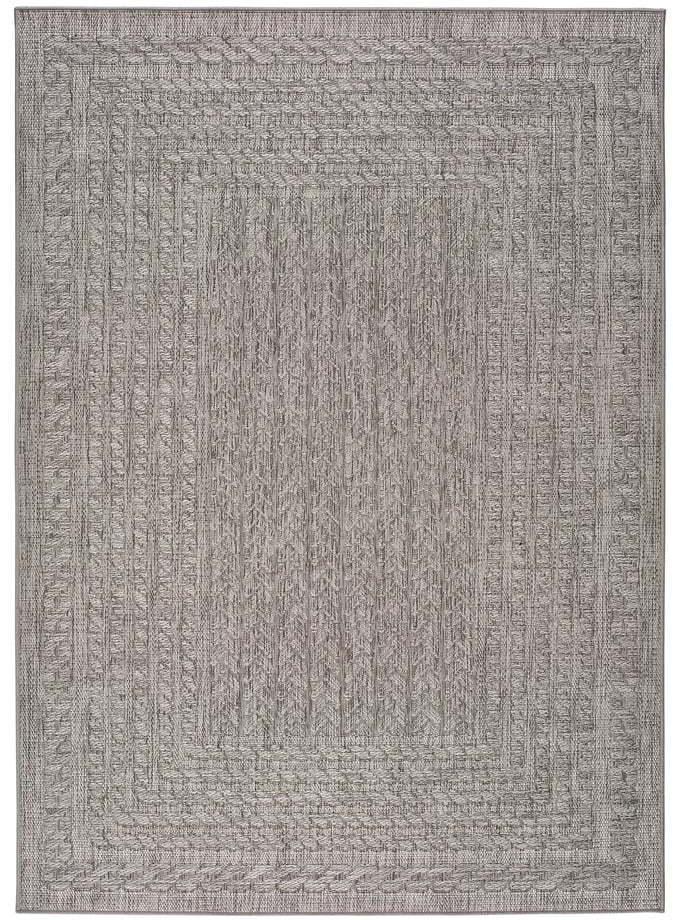 Sivý vonkajší koberec Universal Jaipur Berro, 120 x 170 cm