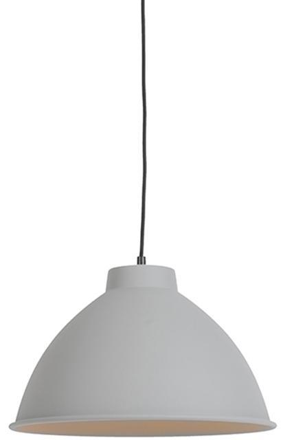 Škandinávska závesná lampa šedá - Anterio 38 Basic