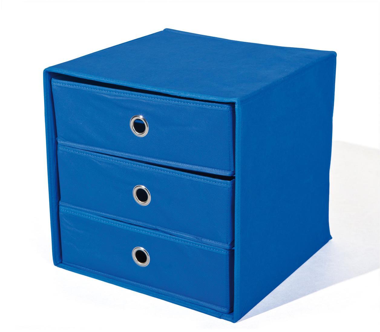 Skladací box WILLY modrý