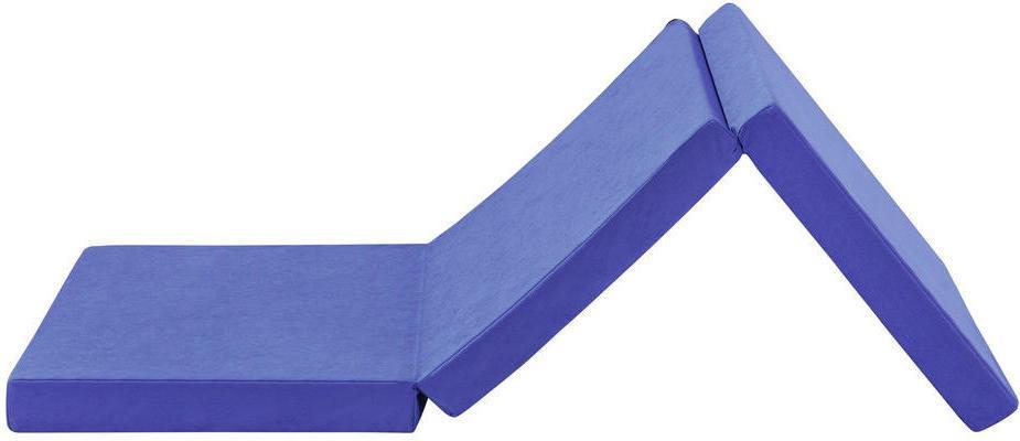 SKLADACÍ MATRAC, 65/186 cm - modrá