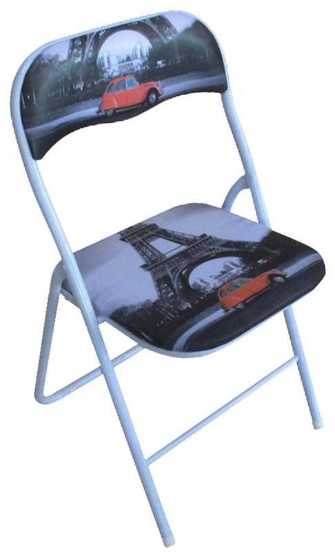 Skladacia stolička Jamos, motív Paríža
