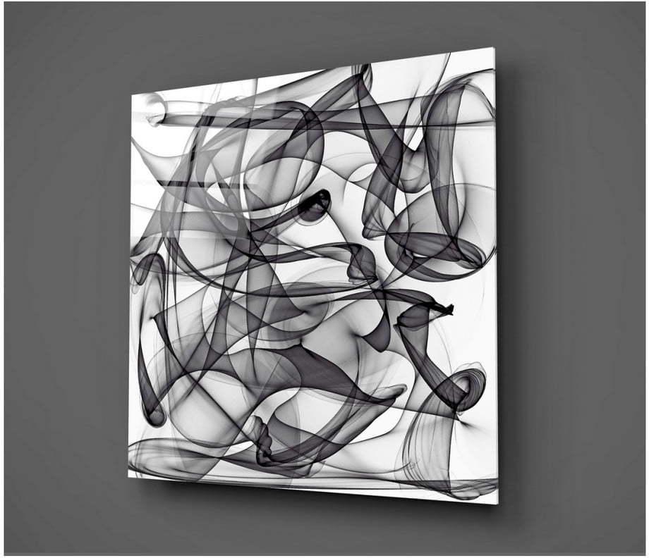 Sklenený obraz Insigne Hurgo, 40 × 40 cm