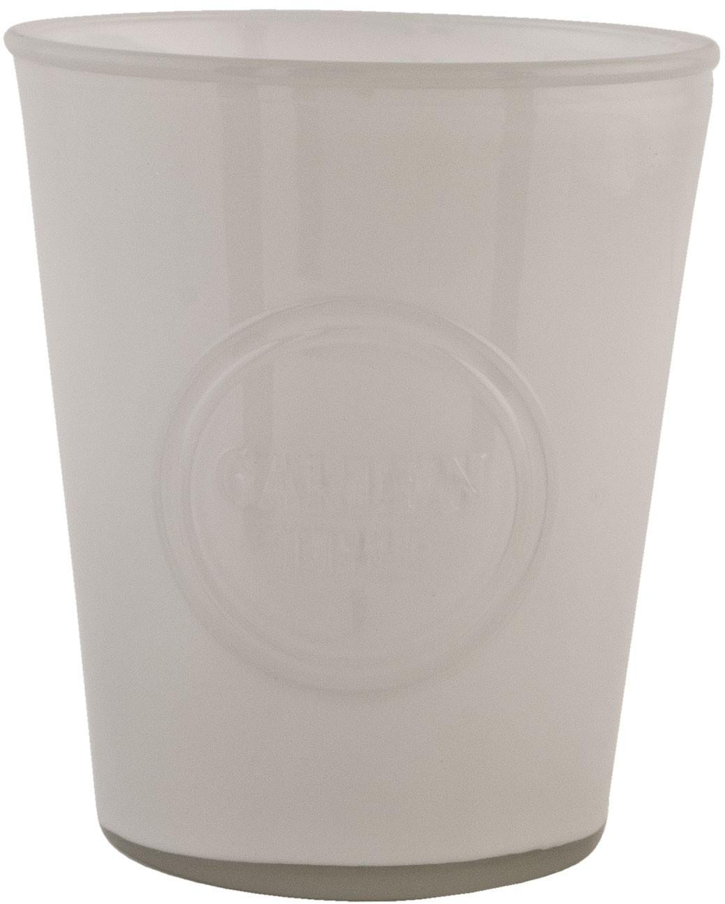 Sklenený svietnik na čajovú sviečku - Ø 14 * 16 cm