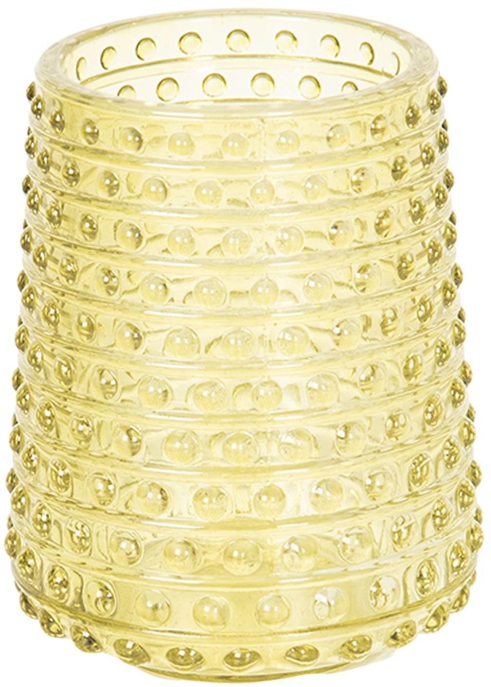 Sklenený svietnik na čajovú sviečku Alain - ∅ 7 * 9 cm