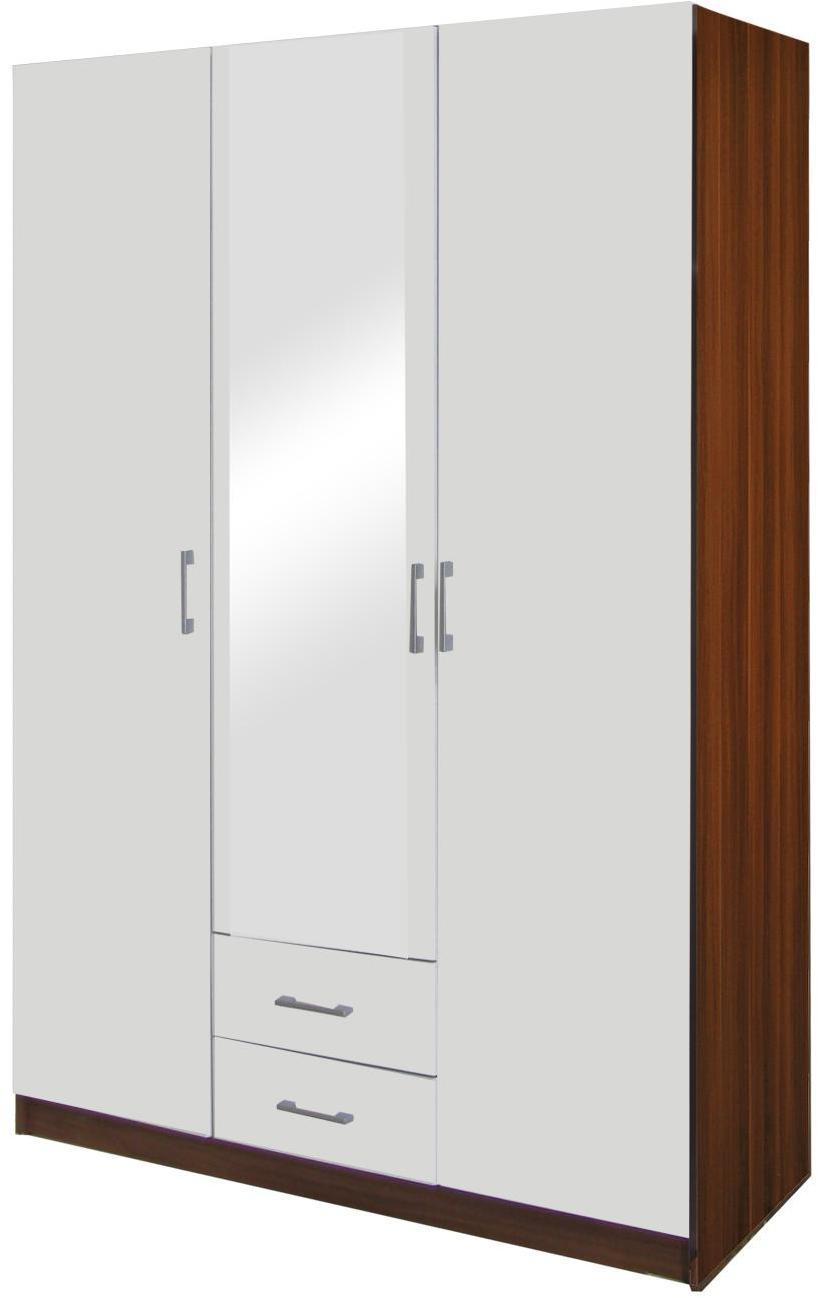 Skriňa ESO 3-dverová 61530 orech/biela
