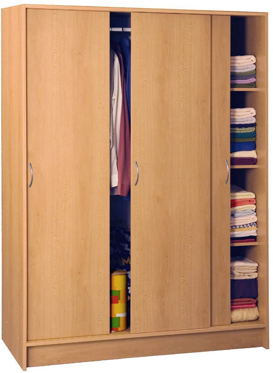 Skriňa s posuvnými dverami 3323 buk