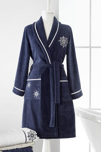 Soft Cotton Darčekové balenie županu, uteráku a osušky MARINE LADY Biela XL