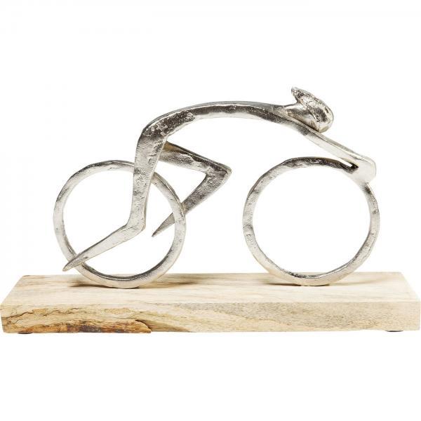 Soška Muž Cyklista 34cm
