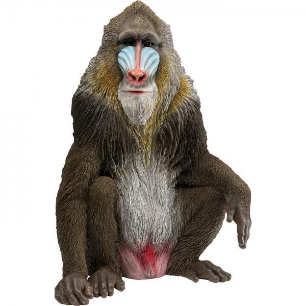 Soška Opice Mandril rýholící 65cm