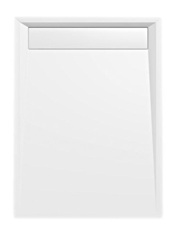 Sprchová vanička obdlžniková VARESA 120x80, 120x90 s líniovým odpadom - 80