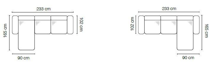 Stagra Rohová sedacia súprava Sidolo Prevedenie: Ľavé prevedenie - OBL+2BP
