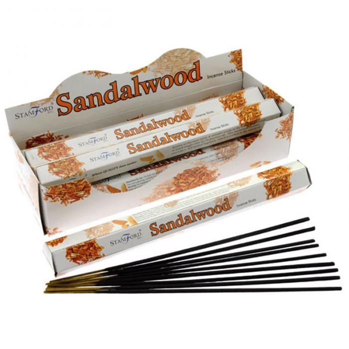 Stamford Premium Hex Range vonné tyčinky Santalové drevo ES00022