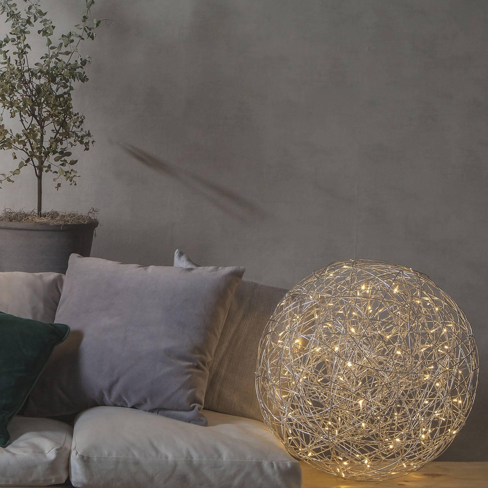 STAR TRADING Vonkajšia LED dekorácia Trassel Ø 50cm