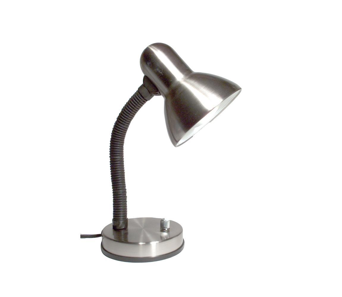 Stmievateľná stolná lampa KADET – S 1xE27/40W mat.chróm