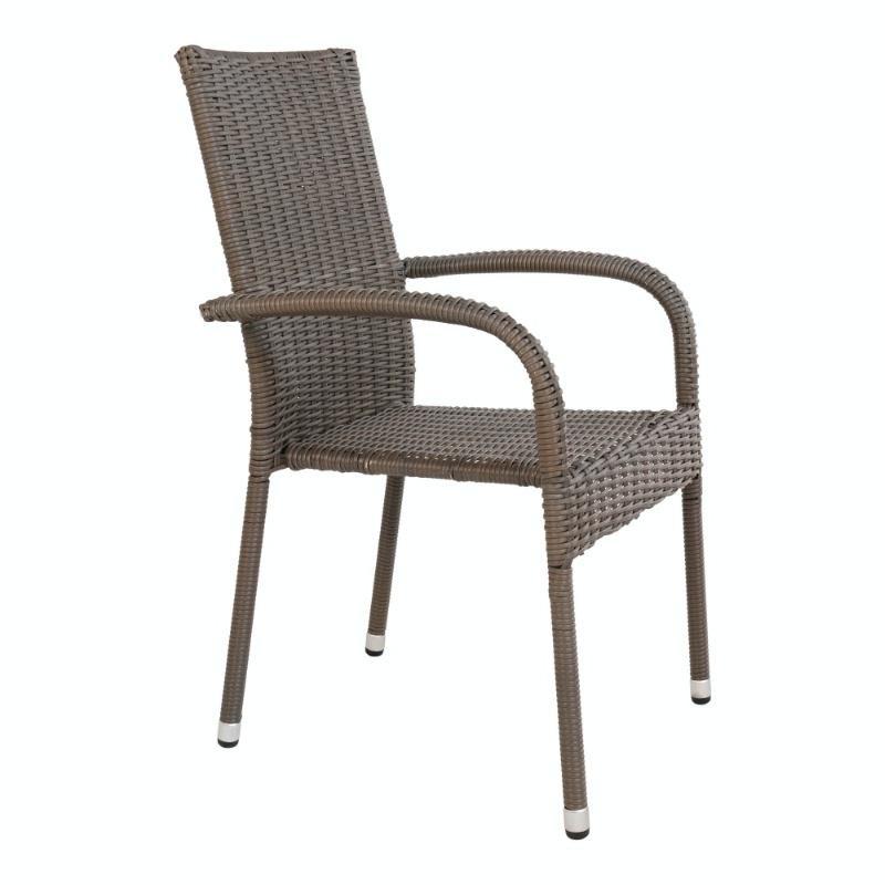 Stohovateľná záhradná stolička Quinton