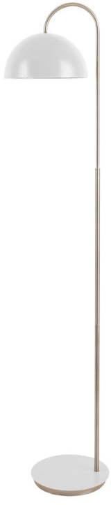 Stojacia lampa v matnebielej farbe Leitmotiv Decova