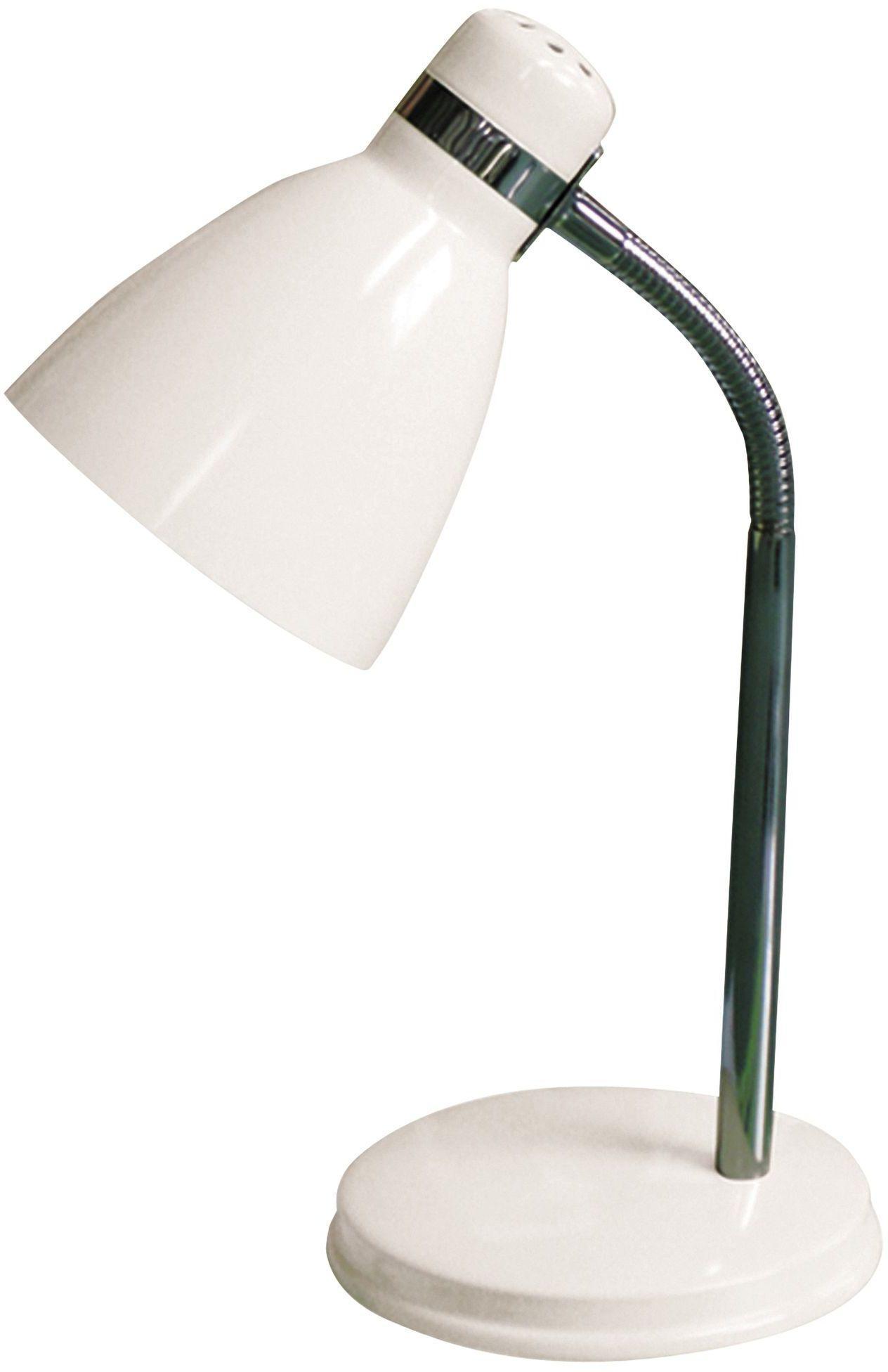 Stojanová lampa Patric 4205 (biela + chrómová)