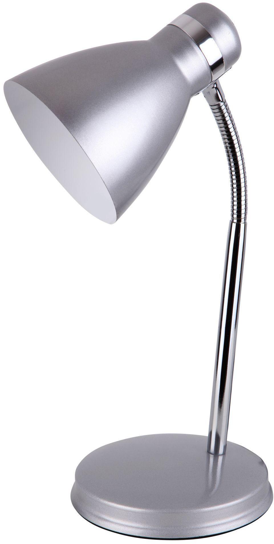Stojanová lampa Patric 4206 (strieborná + chrómová)