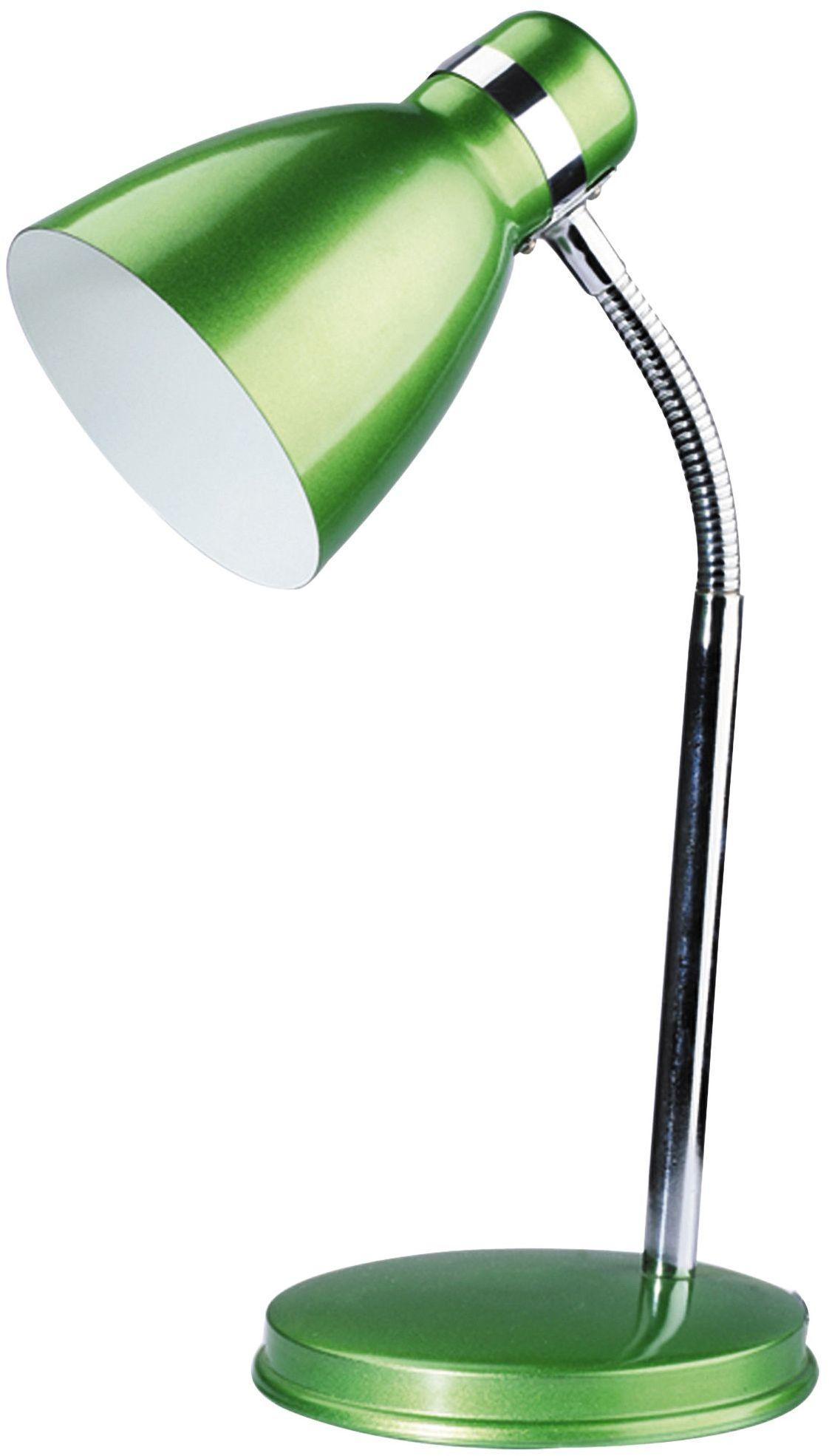 Stojanová lampa Patric 4208 (zelená + chrómová)