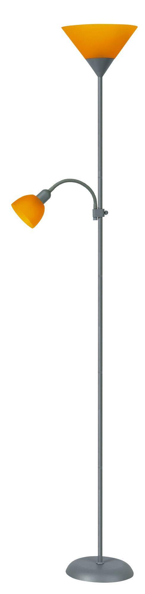 Stojanová lampa Action 4026 (strieborná + pomarančová)