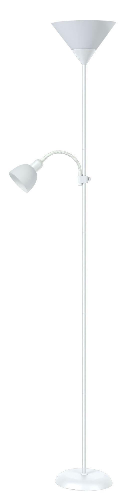 Stojanová lampa Action 4061 (biela + biela)