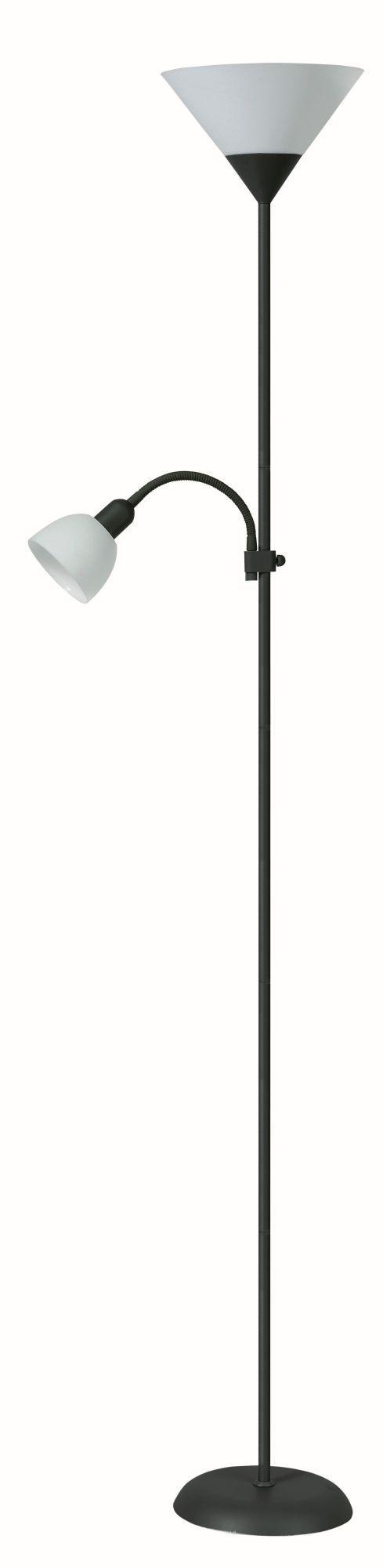 Stojanová lampa Action 4062 (čierna + biela)