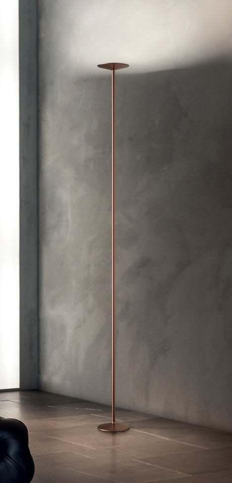 Stojanové svietidlo LINEA Poe FL LED meď   8347