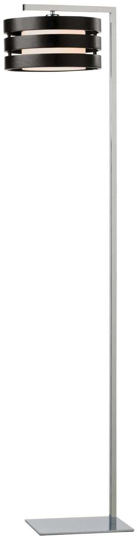 Stojanové svietidlo REDO KIM CHROME WENGE 01-481